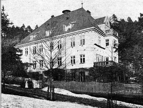 «Grosserer Theodor Henrichsens sjømandshjem» i Karlsborgveien 5. Bilde fra «HVER 8 DAG».