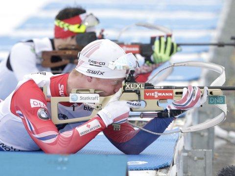 BOM, BOM: Johannes Bø lyktes ikke på VM-jaktstarten.