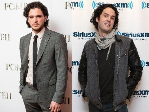 TO DRÅPER VANN?: Okei, så innrømmer vi at de ikke er helt identiske, men de har da likhetstrekk? Foto: Getty Images
