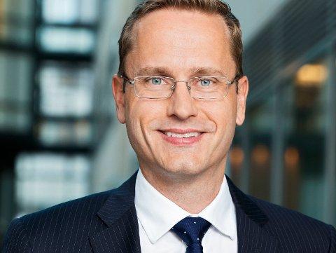 STORSET: Administrerende direktør Snorre Storset i Nordea Norge.