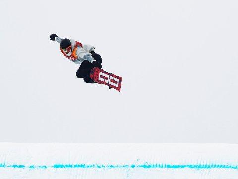 BRUDDSKADER: Mons Røisland måtte dessverre trekke seg allerede før søndagens finale i slopestyle etter et uhell på trening. Resten av OL må også droppes.
