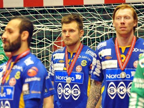 Jakob Heian Ringdal klarte ikke å skjule skuffelsen etter det knepne tapet i cupfinalen.