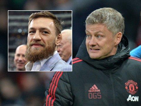 IMPONERT: Conor McGregor er svært imponert over Ole Gunnar Solskjær.