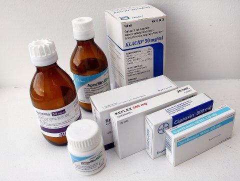 MÅ NED: Bruken av antibiotika faller, men skal ytterligere ned. Foto: Gorm Kallestad / NTB SCANPIX