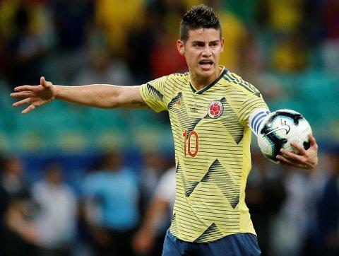Colombia og James Rodriguez har et spennende lag i Copa America. Det skal være i stand til å slå ut et aldrende chilensk mannskap.