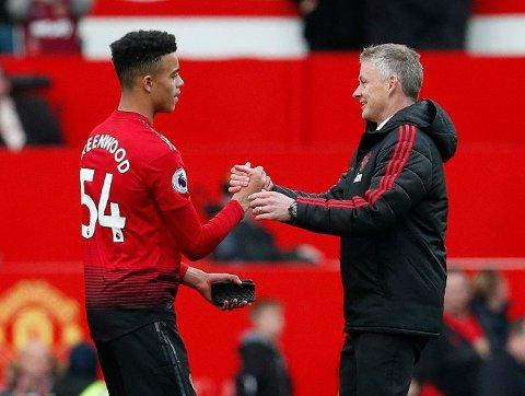 NY AVTALE: Mason Greenwood har signert en ny avtale med Manchester United.