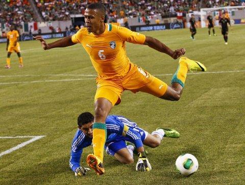 TIL BRASIL: Mathis Bolly skal til Brasil sammen med Didier Drogba.