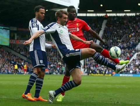 IMPONERTE IKKE: Mario Balotelli gikk målløs av banen for Liverpool.