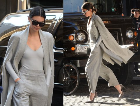ENKELT: Kendall Jenner imponerer med rene linjer og fine snitt. Foto: Getty Images