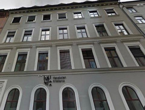 Høyskolen Kristiania er i dag lokalisert i Kvadraturen i tillegg til andre adresser i Oslo.