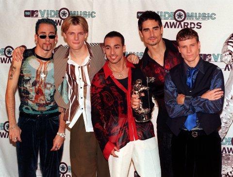 BOYBAND: Backstreet Boys i 1998.