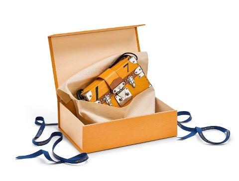 LOUIS VUITTON lanserer en ny emballasje i lys safron.