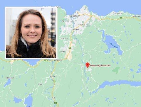 FRA «BYGDA»: Linda Hofstad Helleland kommer fra Klæbu i Trøndelag.