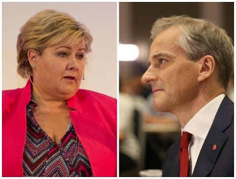 Ap-leder Jonas Gahr Støre og statsminister Erna Solberg (H) krysser flere ganger spor når de begge drar i gang valgkampen i Trøndelag denne uken.