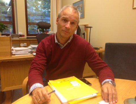 POPULÆR MANN: Hans Olav Syversen sier det er mange som vil mene noe om budsjettet.
