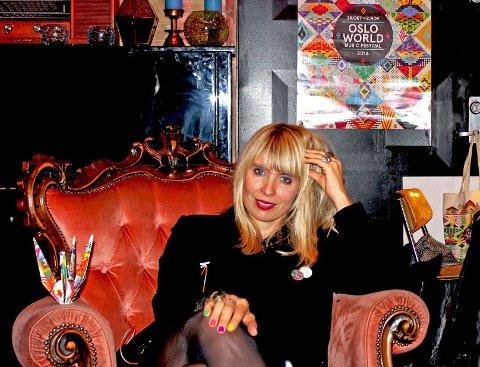 Alexandra Archetti Stølen leder festivalen som samler verden i Oslo denne uka. Ungdomsredaksjonen møtte henne på Kulturhuset like før det hele braket løs.