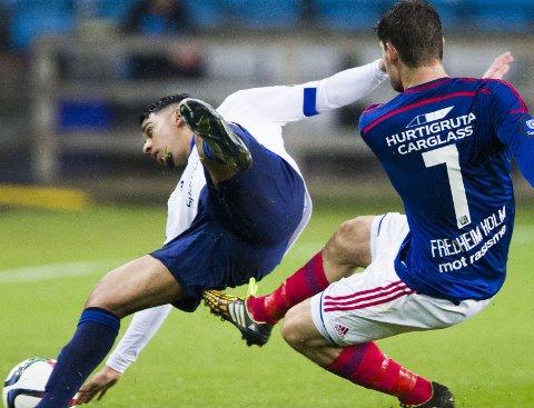 PÅ VEI MOT TOPPEN: Yassine El Ghadassy ønsker å bygge opp igjen karrieren i Norge.