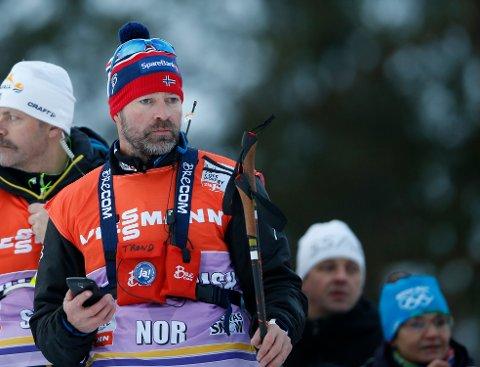 SA OPP: Trond Nystad (48) sa opp jobben i det østerrikske skiforbundet umiddelbart etter VM. Her fra tiden han var norsk landslagstrener.