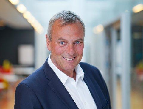 VERDENSMESTER: Den ferske konsernsjefen Rolf Thorsen i Selvaag Bolig kan skilte med både VM-titler og olympiske medaljer i roing.