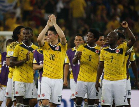 VM-PROBLEMER: Colombia imponerer i VM, men har problemer på hjemmebane.