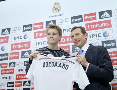 FØRSTE TEST: Martin Ødegaard skal trolig i aksjon onsdag.