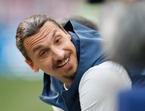 SOLID LØNNSØKNING: Zlatan Ibrahimovic blir den best betalte spilleren noensinne i MLS.