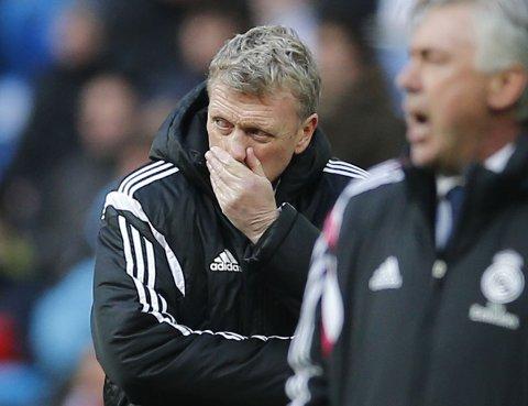 SVARER PÅ SPØRSMÅL: Tidligere Manchester United-manager David Moyes.