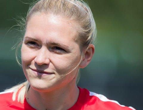 LEGGER OPP: Ingvild Isaksen har bestemt seg for å legge opp som fotballspiller.