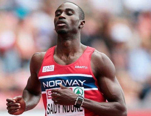MÅ I RETTEN: Den norske friidrettsstjernen Jaysuma «Jays» Saidy Ndure må møte i retten tiltalt for vold mot sin eks-samboer. Han risikerer å bøte både med fengselsstraff og et økonomisk erstatnigskrav på 100.000 kroner (ARKIVFOTO)