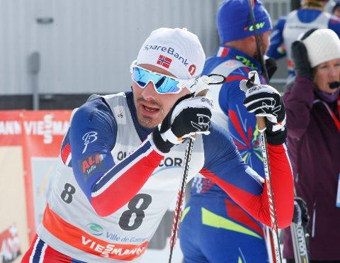 SKUFFET: Finn Haagen Krogh har mye å ta igjen i Ski Tour Canada.