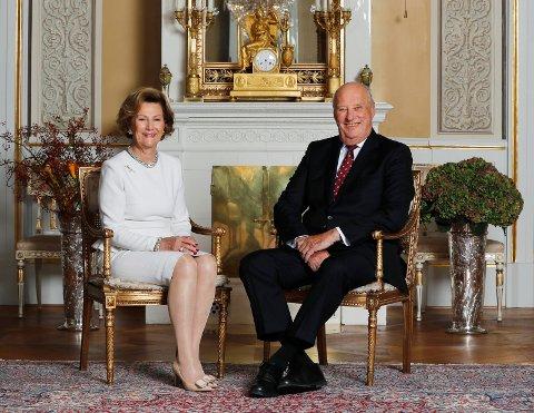 GRATULERER MED DAGEN: I dag er det 50 år siden kong Harald og dronning Sonja ga hverandre sitt ja i Oslo domkirke. Bildet er fra 2016 da begge fylte 80 år.