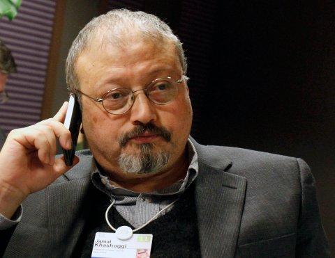Jamal Khashoggi på et bilde fra 2011. Foto: Virginia Mayo / AP / NTB scanpix