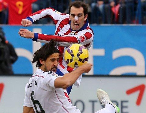 SKADET: Real Madrids Sami Khedira.