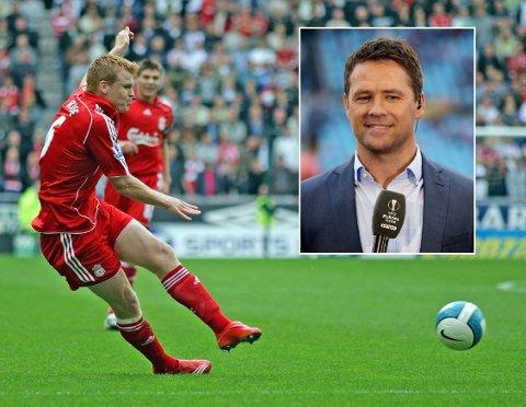 LANSERER SEG SELV: Etter Michael Owens (innfelt) kommentatortabbe, foreslår John Arne Riise seg selv som Liverpool-ambassadør.
