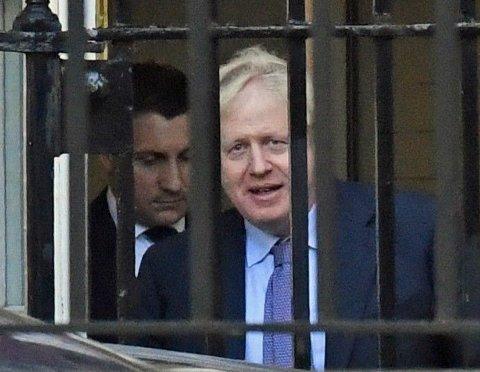 KLAR MED AVTALE: Storbritannias statsminister Boris Johnson sier EU og Storbritannia har kommet i havn med brexitforhandlingene.
