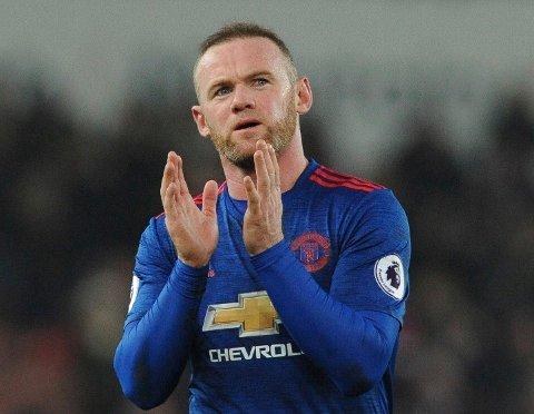 VANT KÅRING: Wayne Rooney, her fra tiden i Manchester United.