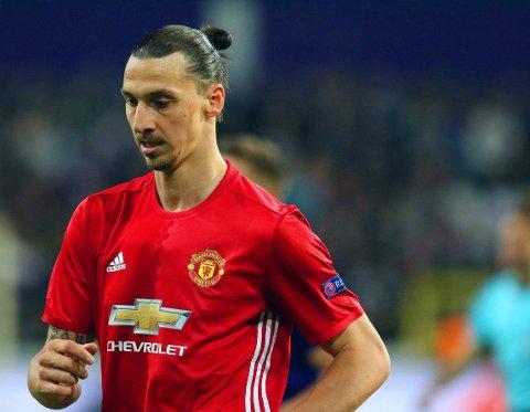 UNDER PARI: Zlatan Ibrahimovic har fått til langt mer tidligere enn det han fikk vist fram mot Anderlecht.