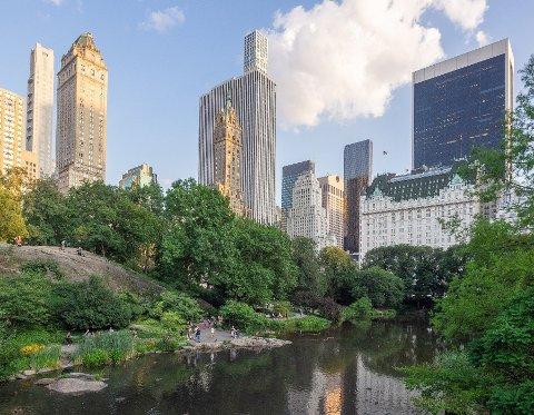 Illustrasjonsfoto: Området som kalles «The Pond» i Central Park, Manhattan, New York City. Bildet er tatt i juli 2019.