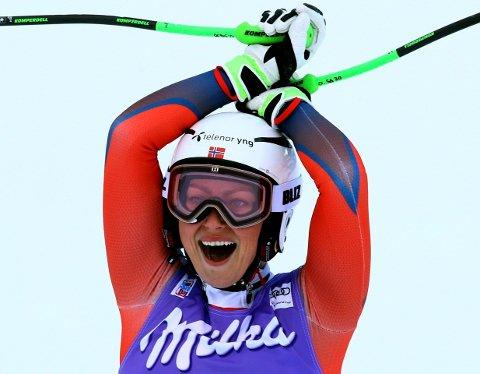 PERSONLIG BESTE: Ragnhild Mowinckel ble nummer seks i Italia.