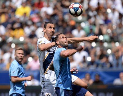 Zlatan Ibrahimovic er tilbake hos LA Galaxy i nattens kamp.