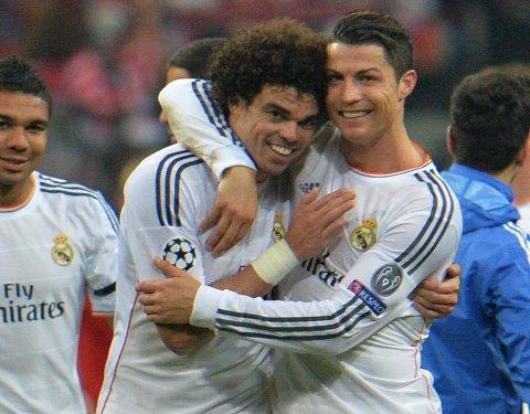 SKADE: Pepe kan gå glipp av finalen i Champions League.