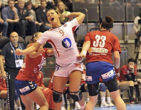 GOD: Nora Mørk viste mot Serbia at hun blir viktig for det norske laget i EM.