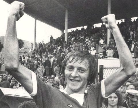 Morfaren til Christine Alver er den tidligere Brann-spilleren Helge Karlsen. Foto: BA