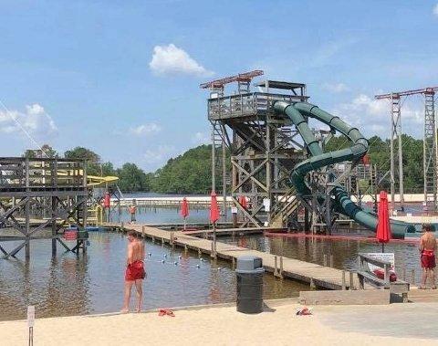 DØDE: En mann døde etter å ha badet i badeanlegget Fantasy Lake Water Park i Cumberland i Nord-Carolina