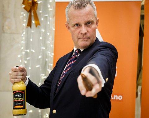 MOT MIN VILJE: Partileder Hans Lysglimt Johansen og partiet Alliansen har satt Nettavisens redaktør Gunnar Stavrum på listen i Oslo uten å spørre ham først. - Som å bli tvangsinnmeldt i Ku Klux Klan, sier Stavrum.