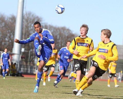 To mål: Markus Norheim Cham scoret to mål i 4-0 seieren mot Strindheim.