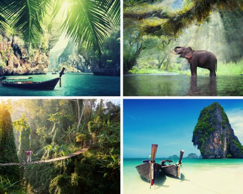 Hvite strender, frodig natur, deilig mat, shopping og kultur. Thailand har alt en turist kan drømme om. Foto: Getty Images