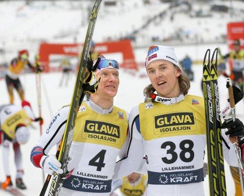 HVEM FÅR GÅ? Miko Kokslien og Håvard Klemetsen kjemper om den siste VM-plassen.