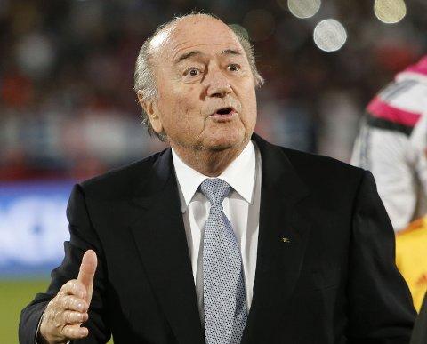 UTFORDRES: FIFA-president Sepp Blatter.
