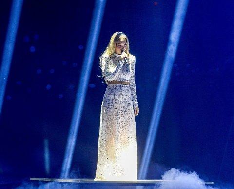 AGNETE gikk ikke videre til finalen i Eurovision.